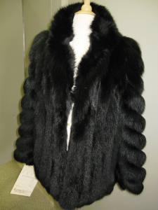 Black Fox Vest 002